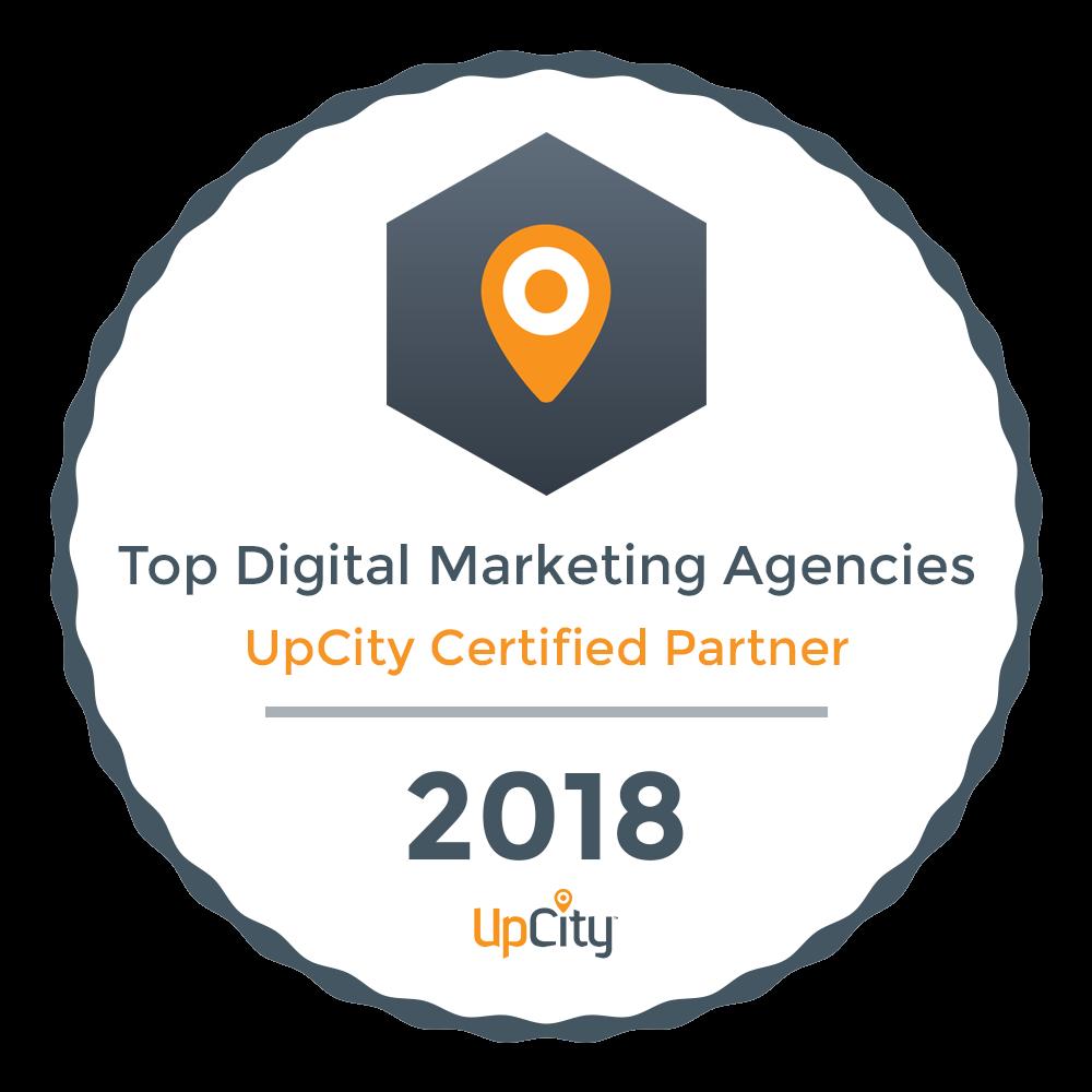 Neon Ambition Top Digital Marketing Agency- Upcity Certified Partner 2018