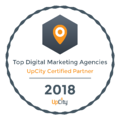 Neon Ambition Top Content Marketing Agency- Upcity Certified Partner 2018