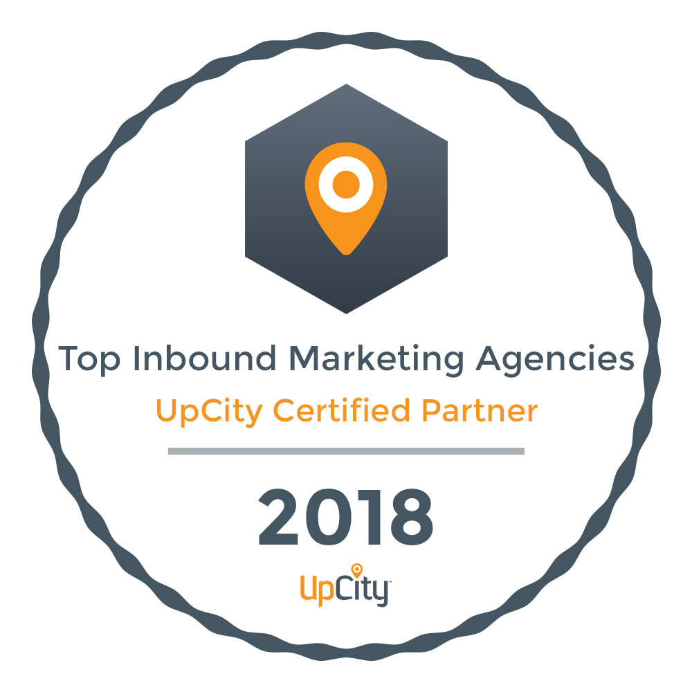Neon Ambition Top Inbound Marketing Agency- Upcity Certified Partner 2018