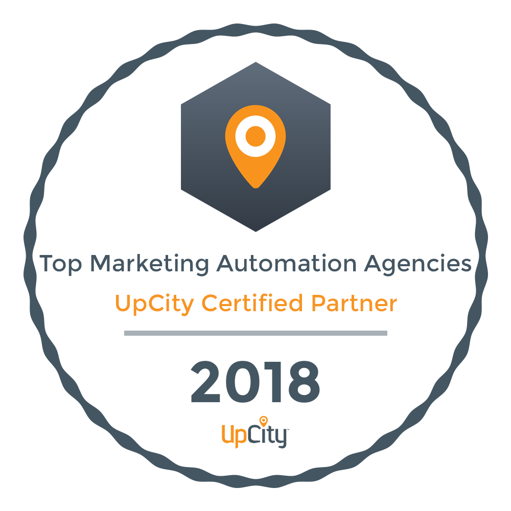 Neon Ambition Top Marketing Automation Agency- Upcity Certified Partner 2018
