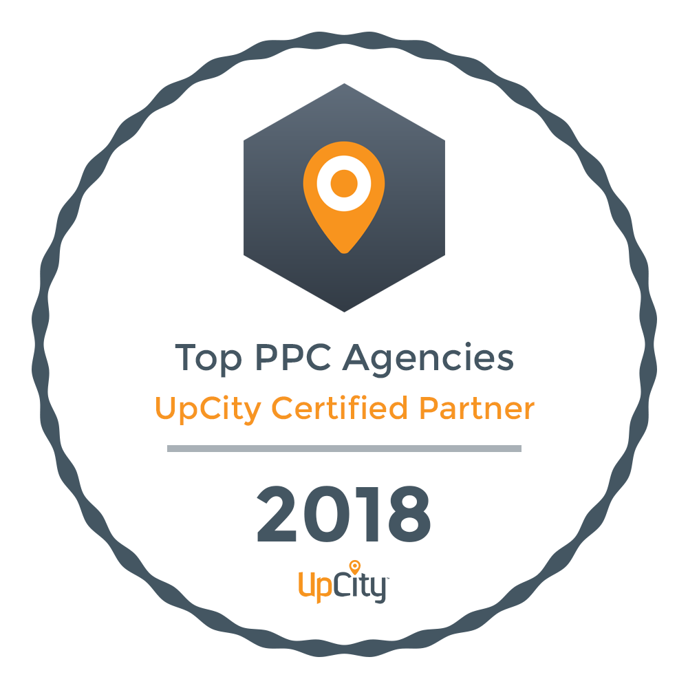 Neon Ambition Top PPC Agency- Upcity Certified Partner 2018