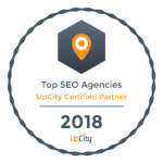 Neon Ambition Top SEO Agency- Upcity Certified Partner 2018