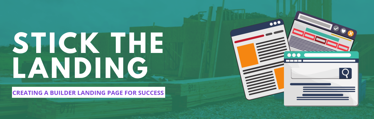 Stick the landing: Creating a Home Builder Landing Page for Success- Blog by Neon Ambition