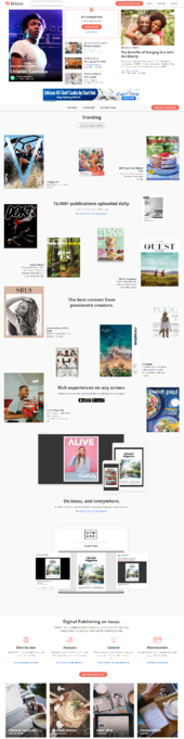 Issuu home page-1