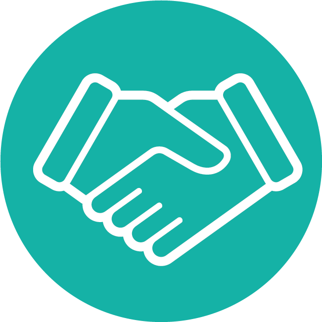 Neon Green Icon Legal Handshake-1